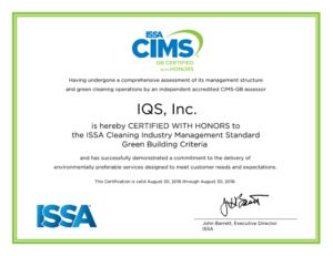CIMS Certification Green Building with Honors