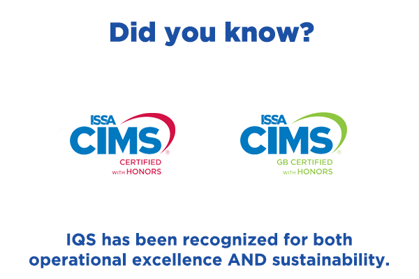 IQS is CIMS certified
