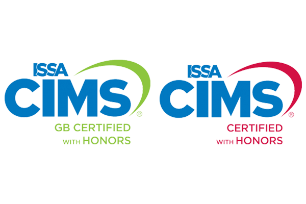 ISSA CIMS Certified with Honors