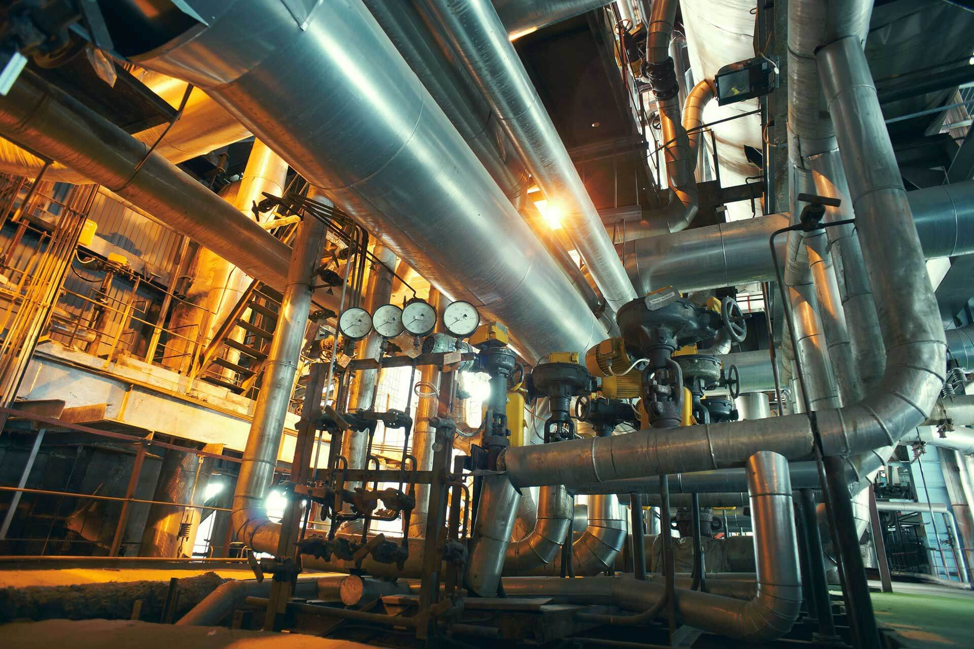 Chemical Petroleum Factory Cleaning
